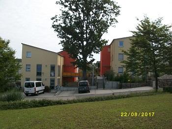 1208. Neubau eines Zweifamilien-Wohnhauses für Menschen mit Behinderung in Kist –  Haus 1 und 2
