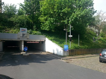 1279. Altstadtparkhaus Lohr am Main, Notstromversorgung