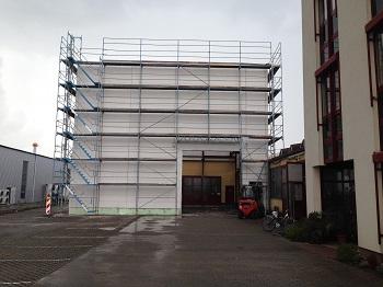 1276. JEWA Metallbearbeitung GmbH Kreuzwertheim – Neubau einer Produktionshalle mit Turmlager